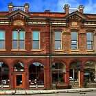 Redmens Hall - Jacksonville Oregon by James Eddy