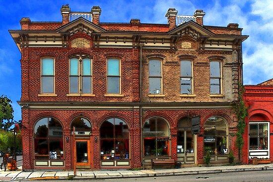 Redmens Hall - Jacksonville Oregon by James Eddy