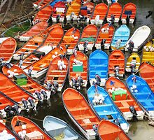 Boat Carpark by Russell Shearing