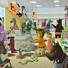 Animal Supermarket by martyee