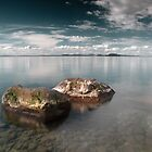 Reflections of Taupo by Paul Alsop