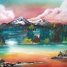 Sunset Lake by BrandyHouse