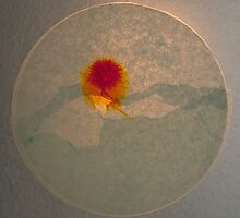 Ink spread sunburst by Richard G Witham