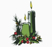 Christmas Candles by BrandyHouse