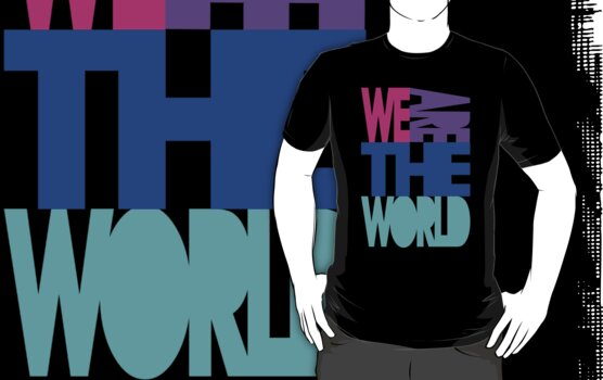 We are the world by DjenDesign