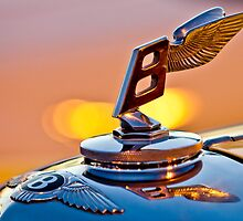 "1948 Bentley ""Flying B"" Hood Ornament by Jill Reger"