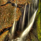 Little waterfall at Burn O&#x27;Vat, Dinnet by Gabor Pozsgai