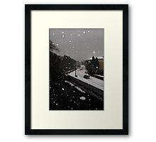 Edinburgh Snow 2010 Framed Print