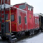 Cold Caboose by Rick Baber