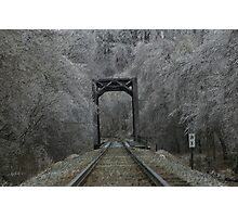 Ice Storm 2 Photographic Print