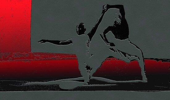 Pas de deux by Marlies Odehnal
