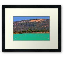Champion Lakes - Western Australia  Framed Print