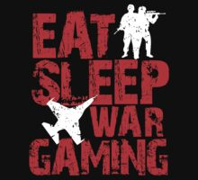 eat sleep wargamming by nadievastore