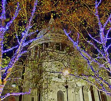 Lights And The Dome - St Pauls - London - HDR by Colin  Williams Photography