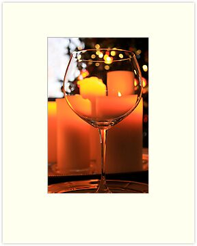 A glass of Christmas cheer by Alice Kahn