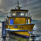 Winter Ferry II by Luke Griffin