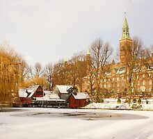Winter in Tivoli by Aase