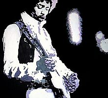 Jimi Hendrix Full of Purple Haze by Angelina52809