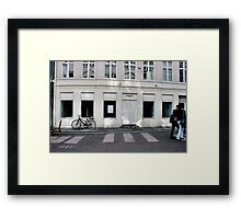 Afternoon Kiss Framed Print