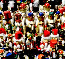 Nutcracker Army by designerbecky