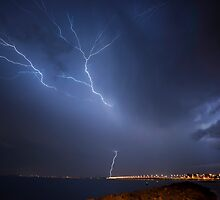 Brisbane Storm Chase by Mark Greenmantle