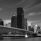 Brisbane City in Black & White by kraMPhotografie