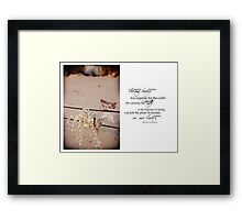 The Year Of The Babylost -  November 2011 Framed Print
