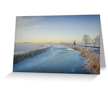 MASTER PIECE BY JACK FROST Greeting Card