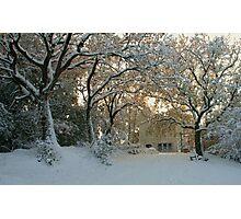 Tuscany Winter Photographic Print
