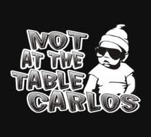 Hangover baby carlos not at the table by personalized