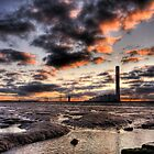 Isle of Grain Power Station by Robert Radford