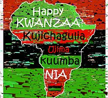 Kwanzaa Celebration by paintingsheep