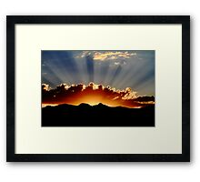 Days of Thunder Framed Print