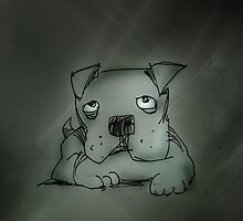 sad pooch by Matt Mawson