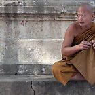 A Budhist Monk by Mukesh Srivastava