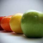Colourful Fruit & Veg by StephChesna