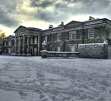 Mount Stewart House In the Snow by Jonny Andrews