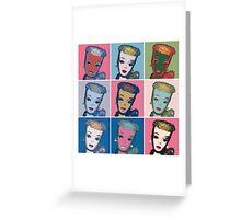 Warhol Barbie Greeting Card