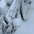 Snow Bicycle by Karen Martin