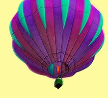 Hot Air balloon in New Castle, PA by Joe Bashour