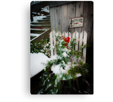 Antiques & Old Stuff for Christmas Canvas Print