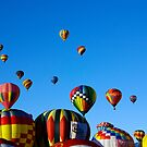 Colors of the Albuquerque Balloon Fiesta by JBoyer