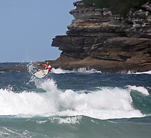 Kelly Slater - Bondi Beach Boost Show by Mick Duck