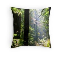 Dramatic Forest Throw Pillow