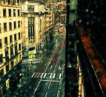 Rainy day behind the window by MrTxa