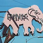 Pink Elephant #3 by Michael Ward
