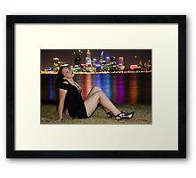 Lesley 4 Framed Print