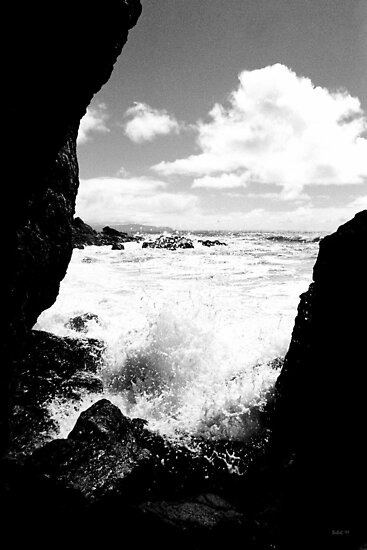 Muir Beach BW by Rick Baber