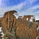 Rocks on Mount Wellington by Sean Farrow