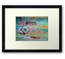 Diamonds and Rust Framed Print